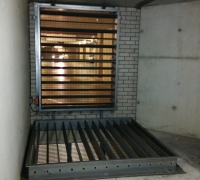 Roosters kleppen parkeergarage ExcelTech